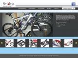 <h5>Bostek bicycle store. Interface website design</h5>