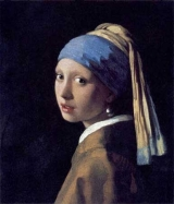 <h5>Girl with a Pearl Earring (1665), Johannes Vermeer</h5>