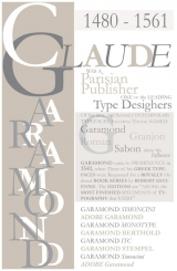 <h5>Garamond Poster</h5>